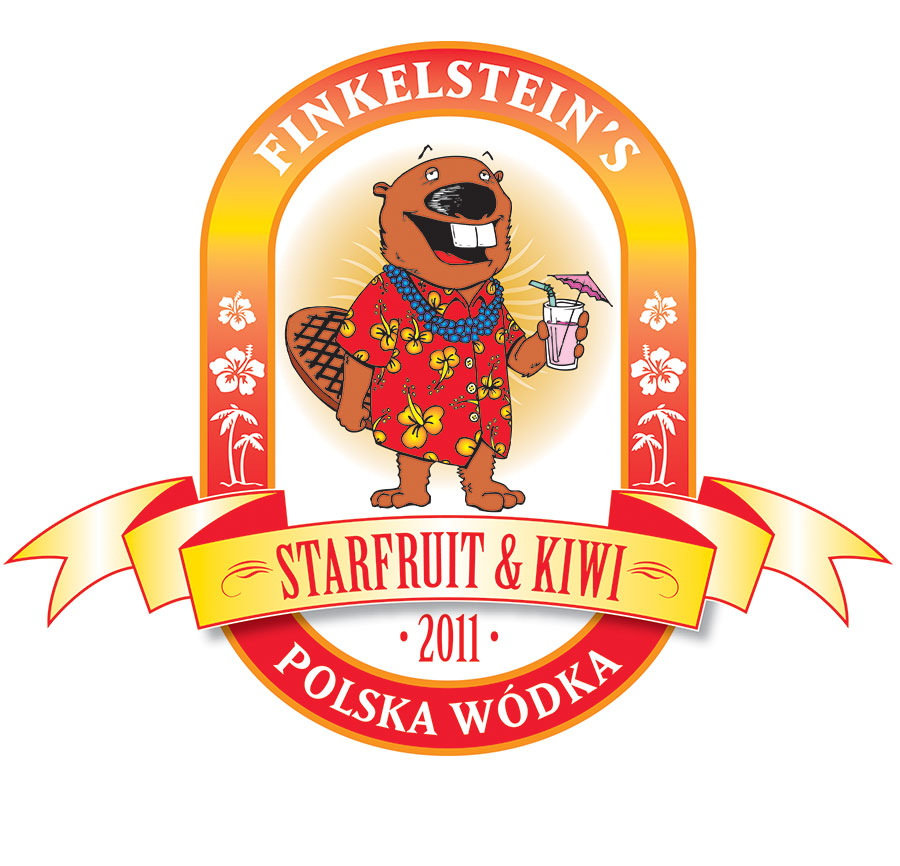 finkelsteins-polska-wodka-starfruit-kiwi-illustration-electric-mustache-design-daphne-alabama