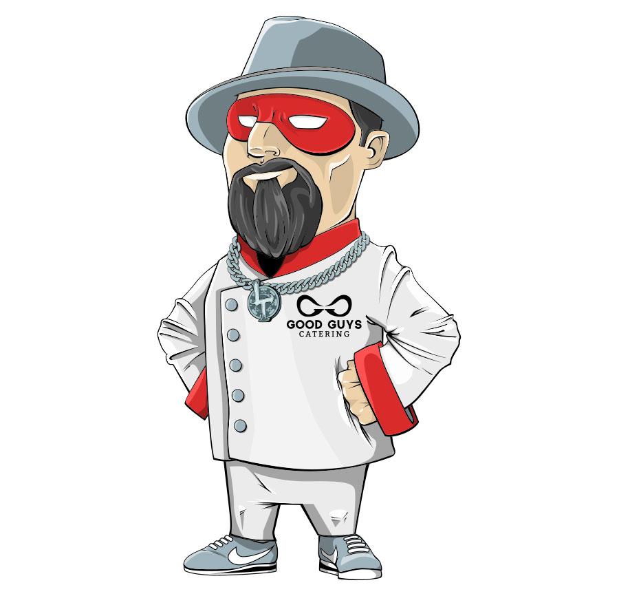 good-guys-chef-illustration-electric-mustache-design-custom-artwork